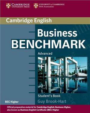 business benchmark advanced students book bec higher edition - ISBN: 9780521672955