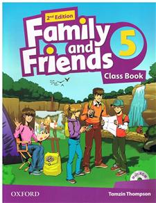 family and friends 2 edycja 5 class book and multirom pack - ISBN: 9780194808330