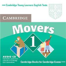 cambridge young learners english tests movers 1 audio cd - ISBN: 9780521693431