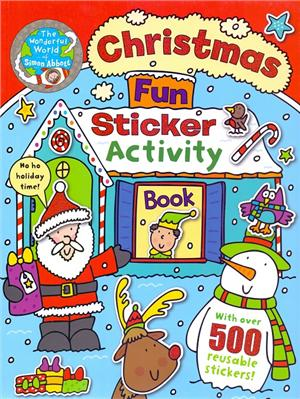 christmas fun sticker activity book - ISBN: 9781783251834