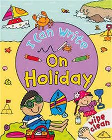 i can write on holiday - ISBN: 9780753433553
