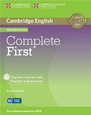 complete first 2ed teachers book with teachers resources - ISBN: 9781107643949