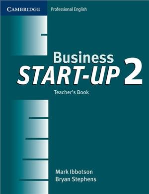 business start-up 2 teachers book - ISBN: 9780521534703