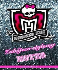 monster high zabójczo stylowy notes - ISBNx: 9788362478736