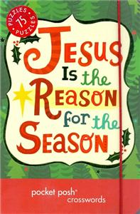 jesus is the reason for the season pocket posh christmas crosswords - ISBN: 9781449460235