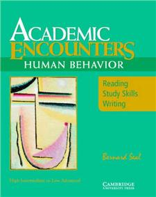 academic encounters human behavior students book - ISBN: 9780521476584
