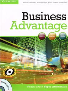 business advantage upper-intermediate students book with dvd - ISBN: 9780521132176