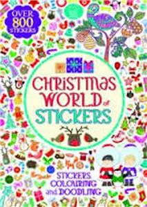 christmas world of stickers - ISBNx: 9781780552798