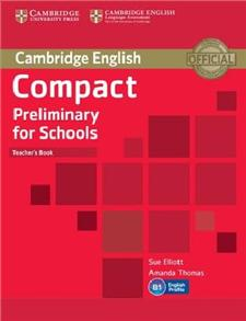compact preliminary for schools teachers book - ISBN: 9781107610279
