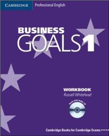 business goals 1 work book with audio cd - ISBN: 9780521603201