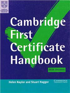 cambridge first certificate handbook with answers - ISBN: 9780521629195