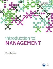 introduction to management 2014 - ISBNx: 9780199642991