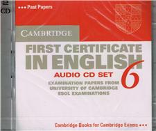 cambridge first certificate in english 6 audio cd set 2 cds - ISBN: 9780521754484