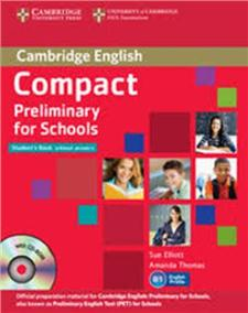 compact preliminary for schools student pack without answers - ISBN: 9781107667143