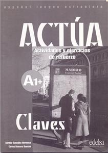 actua a1 claves - ISBN: 9788477113034