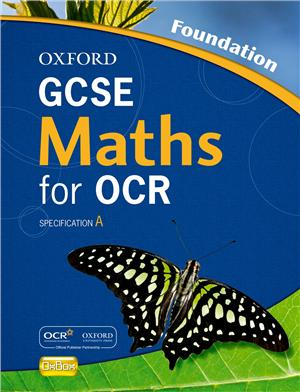 oxford gcse maths for ocr foundation student book specification a - ISBNx: 9780199139293