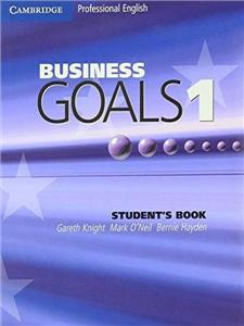 business goals 1 students book - ISBN: 9780521755375
