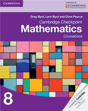 cambridge checkpoint mathematics coursebook 8 - ISBN: 9781107697874