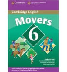 cambridge young learners english tests 6 movers students book - ISBN: 9780521739368