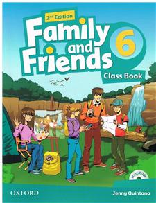 family and friends 2 edycja 6 class book and multirom pack - ISBN: 9780194808347