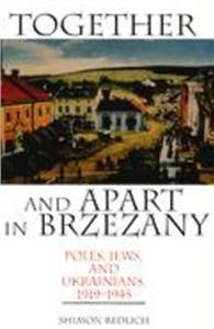 together and apart in brzezany - ISBN: 9780253340740