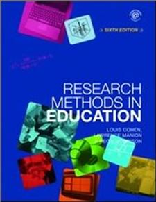 research methods in education - ISBNx: 9780415368780