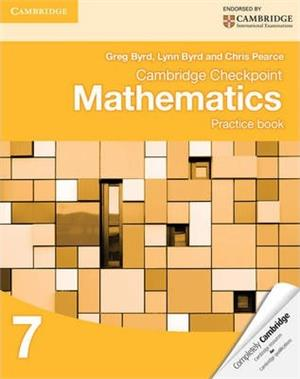 cambridge checkpoint mathematics practice book 7 - ISBN: 9781107695405
