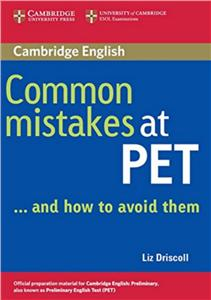 common mistakes at pet  and how to avoid them - ISBNx: 9780521606844