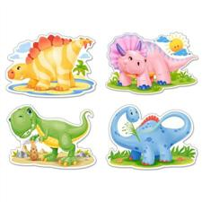 puzzle 4w1 baby dinosaurs - ISBN: 5904438004386