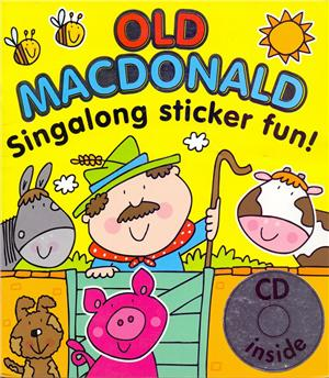 old macdonald singalong sticker book with cd - ISBNx: 9781847333643