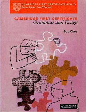 cambridge first certificate grammar and usage students book - ISBN: 9780521435390