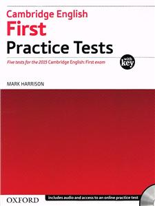 cambridge english first practice tests with key  audio cd and online practice pack 2015 - ISBN: 9780194512565