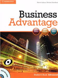 business advantage advanced students book with dvd - ISBN: 9780521181846