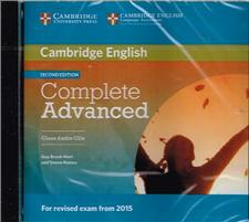 complete advanced 2ed class audio cds - ISBN: 9781107644502