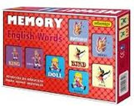 Gra Memory - English Words.