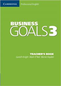 business goals 3 teachers book - ISBN: 9780521613170