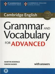 grammar and vocabulary for advanced sb with key  cd - ISBNx: 9781107481114