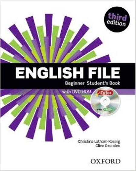 English File Third Edition Beginner: Student's Book & iTutor Pack