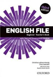 english file third edition beginner teachers book with test  assessment cd-rom - ISBN: 9780194501507