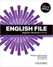 english file third edition beginner workbook with key - ISBN: 9780194501613