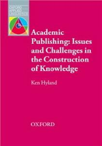 academic publishing issues and challenges in the construction of knowledge - ISBN: 9780194423953