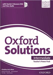 Oxford Solutions Intermediate Teacher's Power Pack 2015
