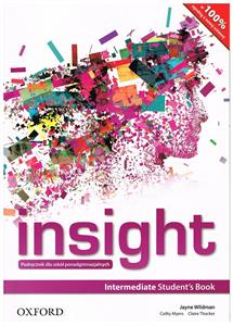 insight intermediate students book wersja polska 2015 - ISBN: 9780194002660
