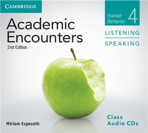 academic encounters level 4 class audio cds 3 listening and speaking human behavior - ISBN: 9781107603028