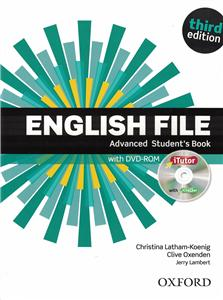 english file third edition advanced students book pack itutor - ISBN: 9780194502399
