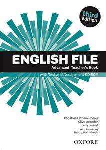 english file third edition advanced teachers book with test assessment cd-rom - ISBN: 9780194502061