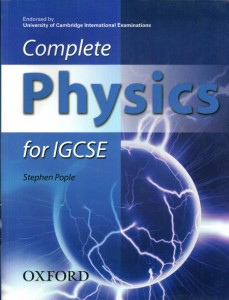 complete physics for igcse - ISBNx: 9780199151332
