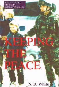 keeping the peace the united nations and the maintenance of international peace and security - ISBN: 9780719048555