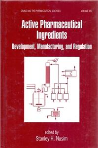 active pharmaceutical ingredients - ISBN: 9780824702939