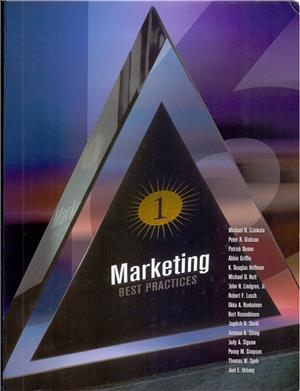 marketing best practices - ISBNx: 9780030211096